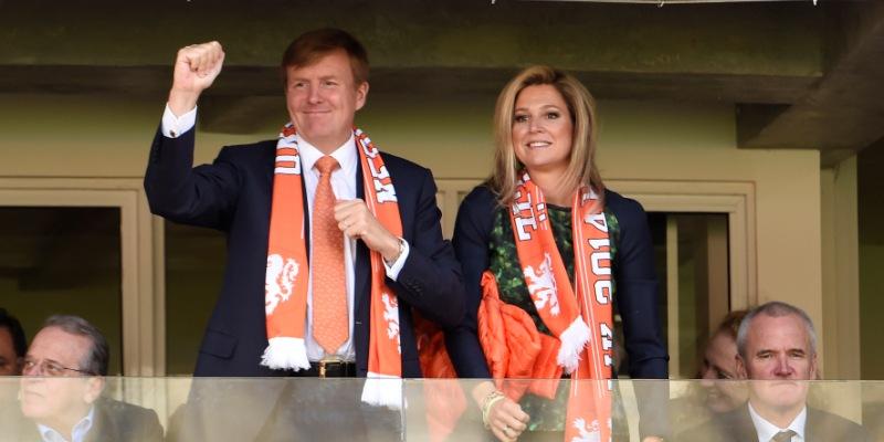 koningspaar supporters