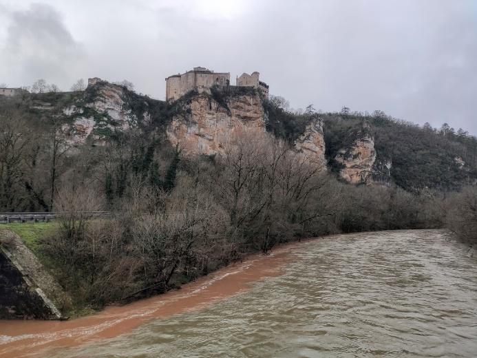 wandeling Bruniquel Aveyron